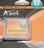 A-Data 32Gb Speedy Compact Flash