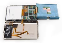 iPod dismantled