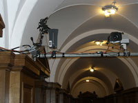 Corridor - Antenna, Boom mics, Remote Camera