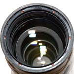 Nikon AFS 70-200 VR Lens Front Off