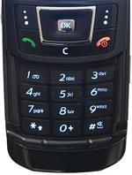 Samsung D900 - Keypad